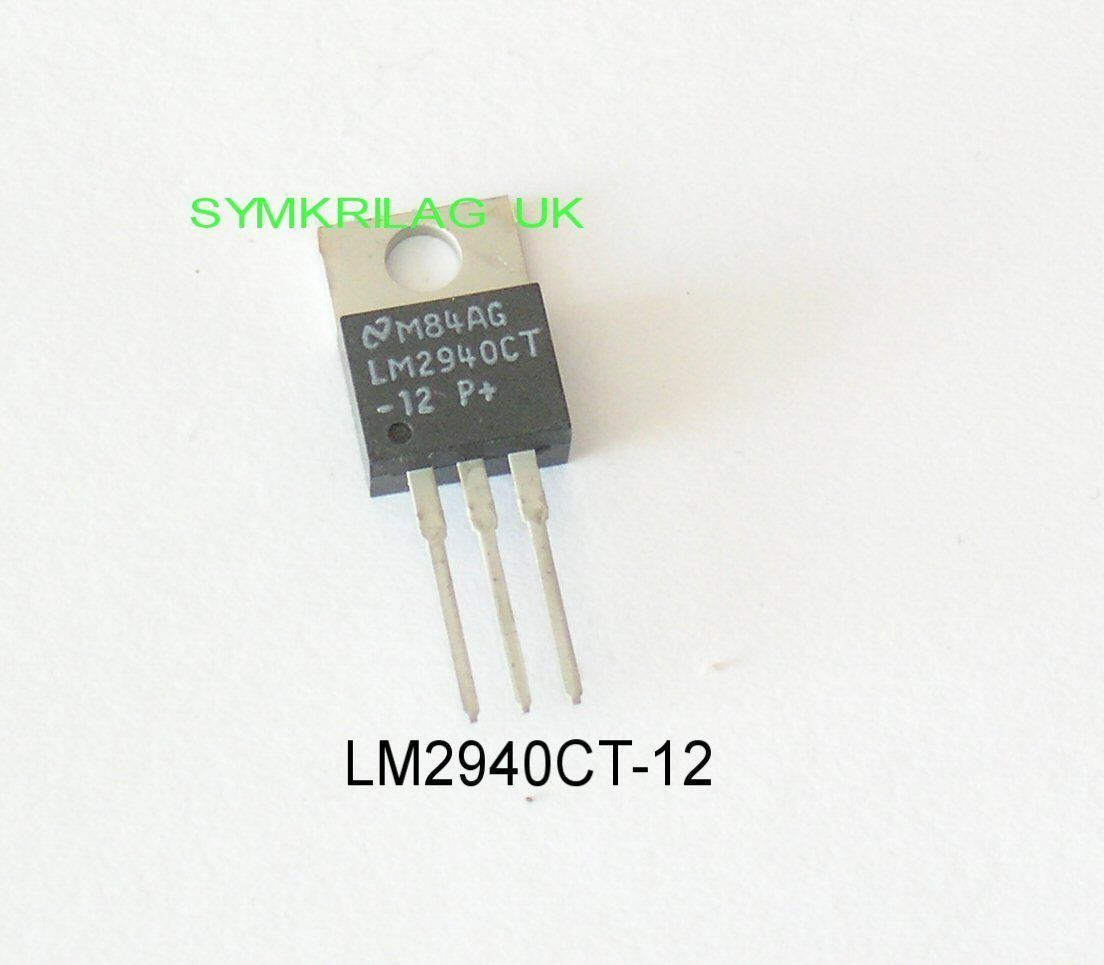 Lm2940ct 12 1a 12v National Low Dropout Regulator To 220 Symkrilag Uk Regulators Circuits Using A Ic