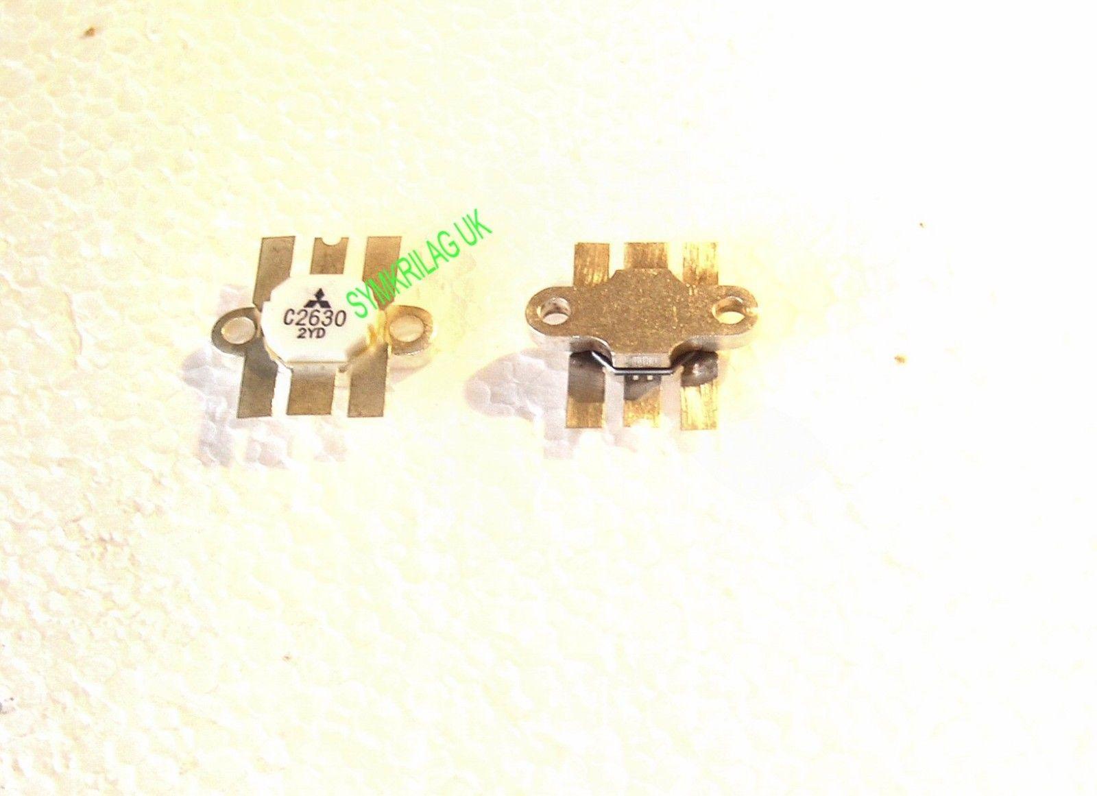 2sc2630 Mitsubishi Genuine Vhf Bipolar Rf Power Transistor 125v 60w Transistored Amplifier Circuit 175mhz Symkrilag Uk