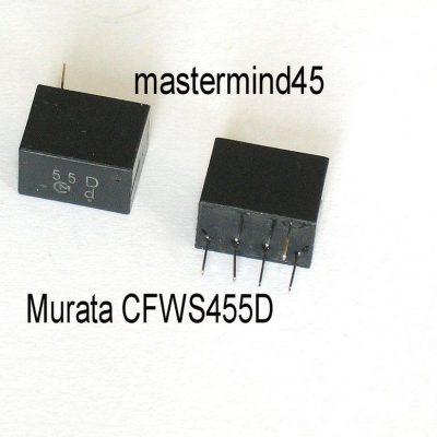 Murata Cfw450b 450 Khz 6 Element Ceramic Filter Symkrilag Uk