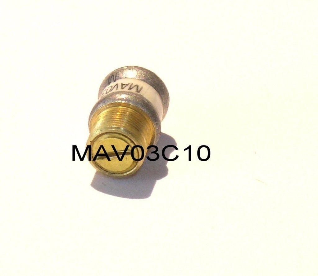 Piston Trimmer Capacitor 0 8 8pf Sapphire Diel Tronser