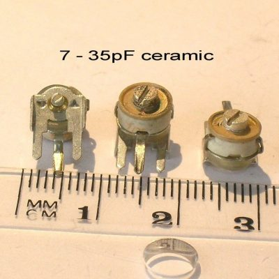 22pf Variable Trimmer Capacitor Variable Capacitor Mica