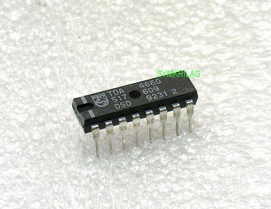 Tda4660 64 S Baseband Delay Line Chip Dip16 Symkrilag Uk