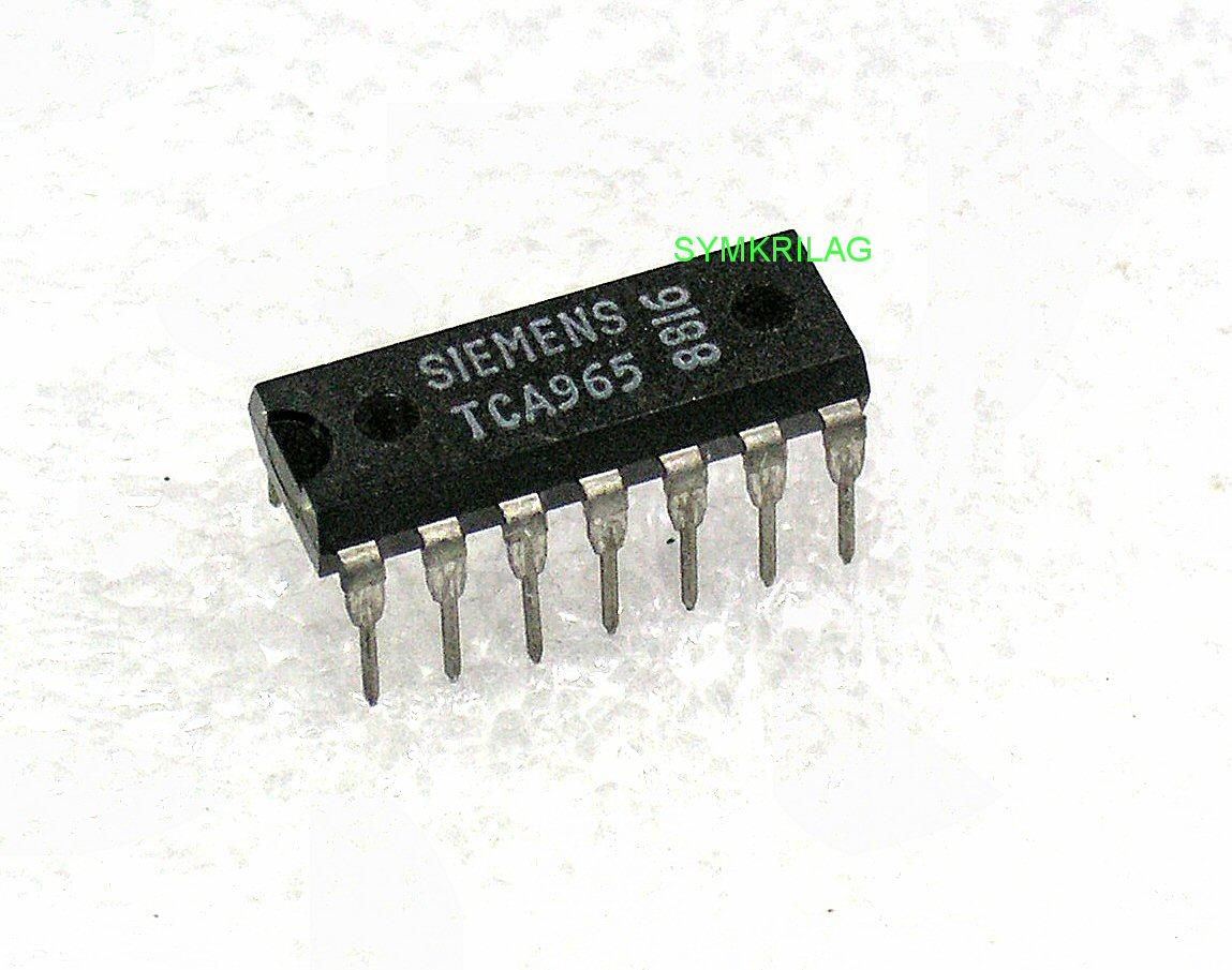 Tca965 Siemens Window Discriminator Chip Dip14 Symkrilag Uk
