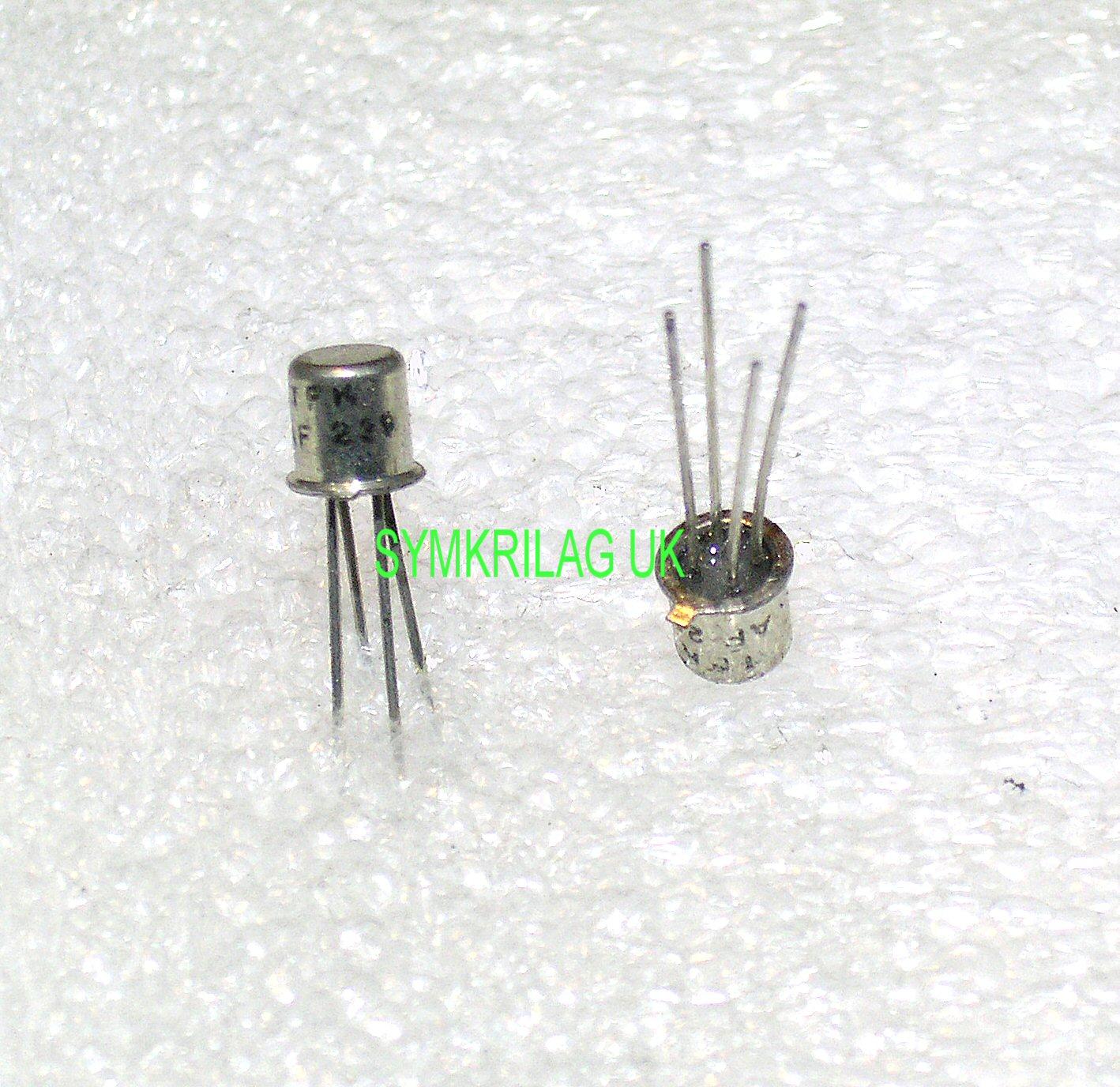 af239 tfk pnp germanium 900mhz transistor to