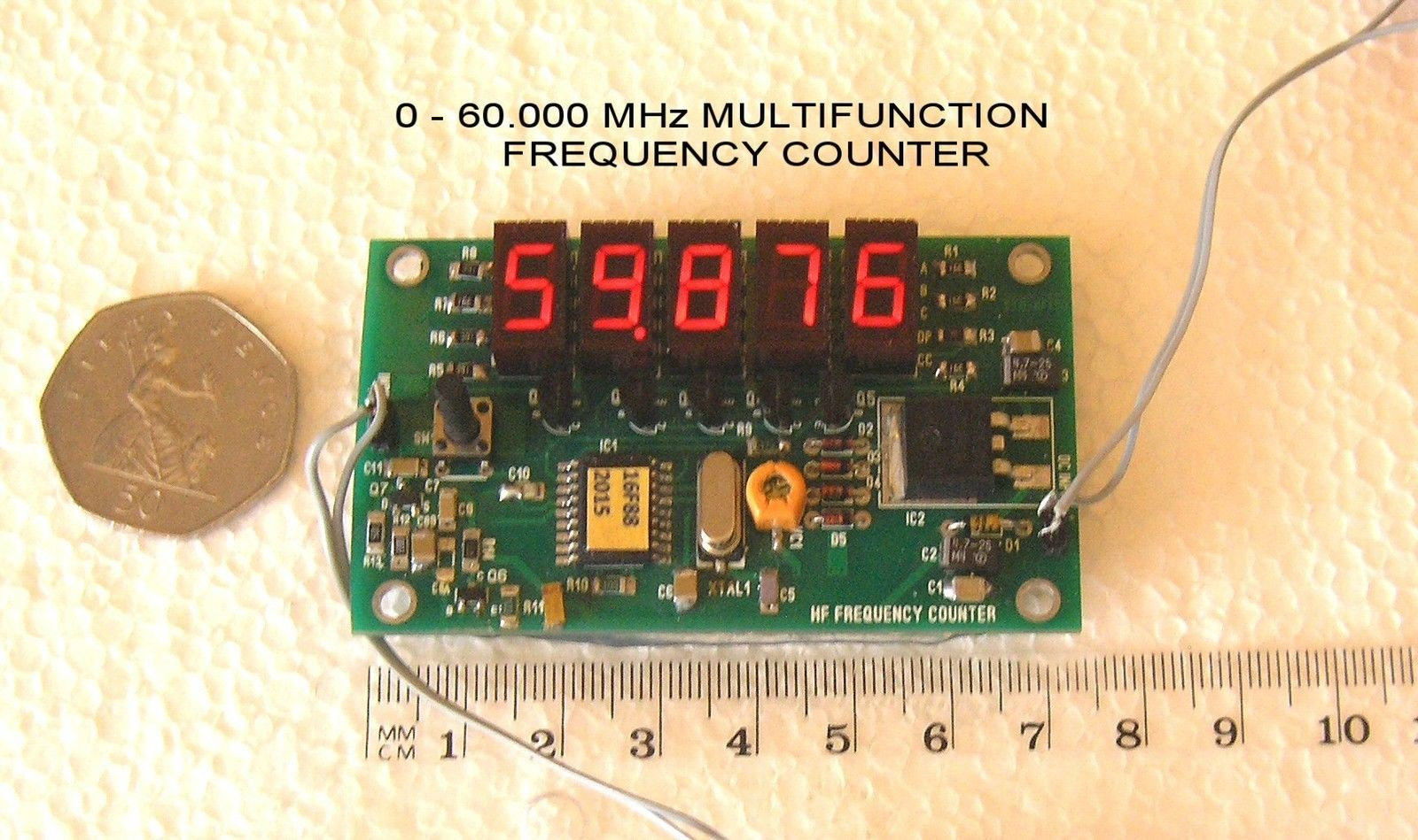 060000 Mhz Multifunction Miniature Progfrequency Counter 1hz To 1mhz Frequency Meter With Digital Display