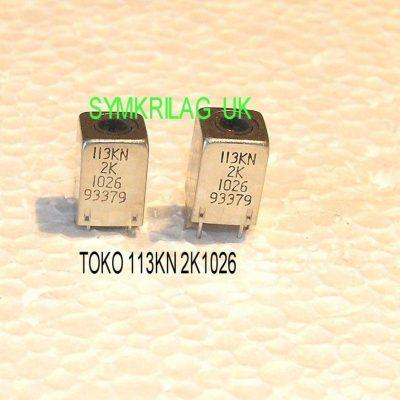 Toko 199cca127ek Rf Antenna Coil 7kc Type 2 Piece Offer
