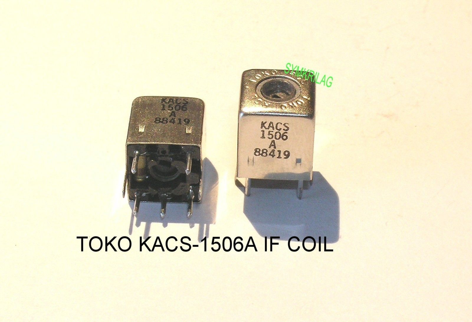 Sumida 10 70 Mhz If Transformer Coil Pink With Multiple