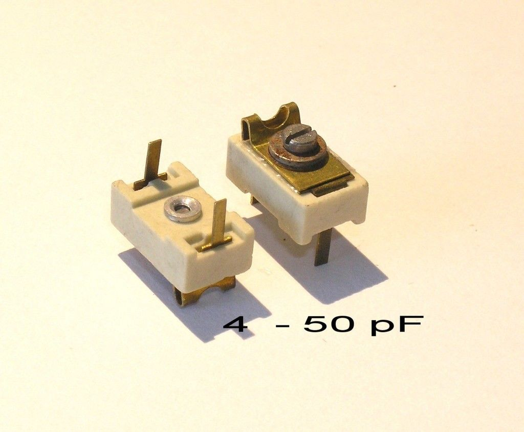 VARIABLE CERAMIC/MICA PADDER/TRIMMER CAPACITOR 4 ~ 50pF
